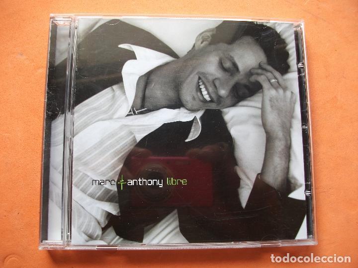 MARC ANTHONY - LIBRE - CD ALBUM COMO NUEVO¡¡ (Música - CD's Latina)