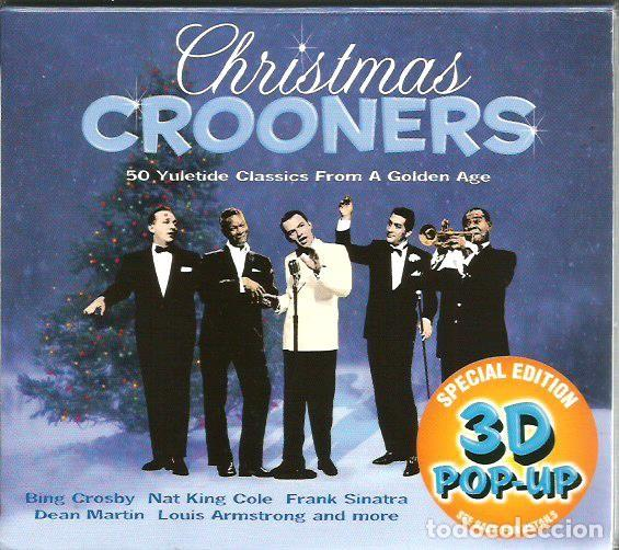 Nat King Cole Christmas.Doble Cd Christmas Crooners Frank Sinatra Bing Crosby Dean Martin Louis Armstrong Nat King Cole