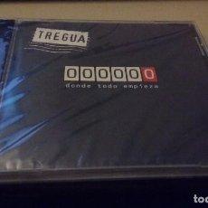 CDs de Música: CD ALBUM NUEVO PRECINTADO TREGUA 000000 DONDE TODO EMPIEZA RUNA RECORDS POP ROCK GALICIA REF ESP GRU. Lote 78933317