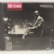 CDs de Música: BILL EVANS - NEW JAZZ CONCEPTIONS - PRIMERA EDICIÓN - WEST GERMANY - JAZZ - 1987 - EX+/EX+. Lote 78942569
