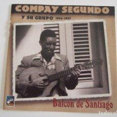 CDs de Música: CD COMPAY SEGUNDO Y SU GRUPO - BALCON DE SANTIAGO - 1998 - 15 TEMAS. Lote 78993485