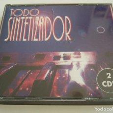 CDs de Música: 2 CD'S TODO SINTETIZADOR - 17 TEMAS. Lote 78998861