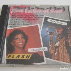 CDs de Música: CD FIRST LADIES OF SOUL - 16 TEMAS. Lote 78999497