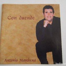 CDs de Música: CD ANTONIO MARCHENA - CON DUENDE - 14 TEMAS - 2004. Lote 78999761