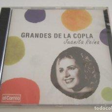 CDs de Música: CD GRANDES DE LA COPLA - JUANITA REINA - 16 TEMAS - PRECINTADO. Lote 79000881