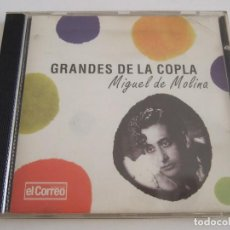 CDs de Música: CD GRANDES DE LA COPLA - MIGUEL DE MOLINA - 16 TEMAS. Lote 79001765