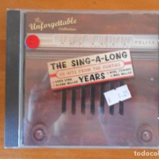CDs de Música: CD THE SING-A-LONG YEARS - THE UNFORGETTABLE COLLECTION (Z8). Lote 79015941
