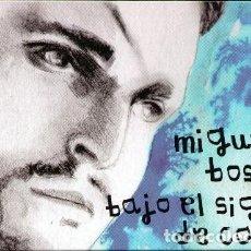 CDs de Música: MIGUEL BOSÉ, BAJO EL SIGNO DE CAÍN. LIBRO + CD. EL PAÍS. Lote 79016133