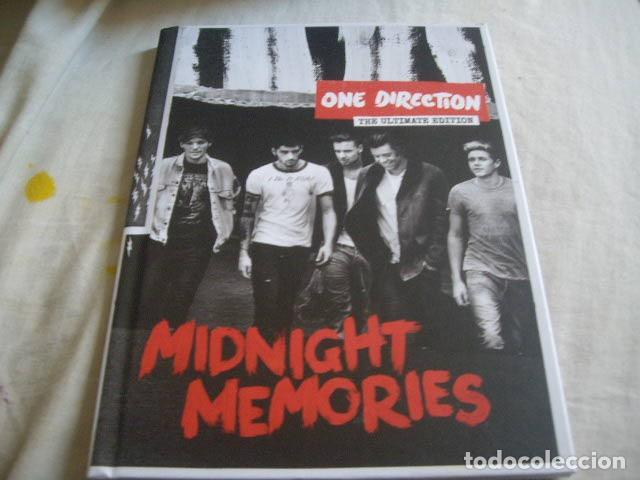 ONE DIRECTION-MIDNIGHT MEMORIES-CD LIBRO