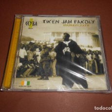CDs de Música: TIKEN JAH FAKOLY ( MANGERCRATIE ) - CD - CEYBA MUSIC - VE-C-0082-2 - PRECINTADO - DJELI - DON .... Lote 79040653