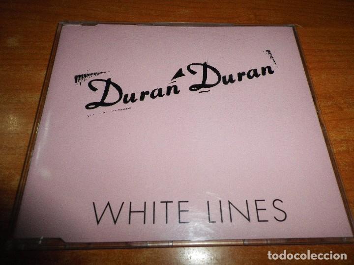 DURAN DURAN WHITE LINES CD SINGLE PROMO 1995 UK PORTADA DE PLASTICO CONTIENE 1 TEMA (Música - CD's Pop)