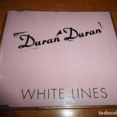 CDs de Música: DURAN DURAN WHITE LINES CD SINGLE PROMO 1995 UK PORTADA DE PLASTICO CONTIENE 1 TEMA. Lote 79045689