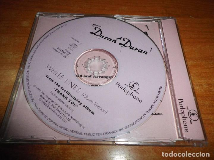 CDs de Música: DURAN DURAN White lines CD SINGLE PROMO 1995 UK PORTADA DE PLASTICO CONTIENE 1 TEMA - Foto 2 - 79045689