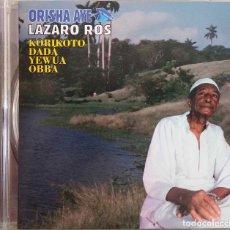 CDs de Música: ORISHA AYE, LAZARO ROS, KORIKOTO DADA YEWUA OBBA. CD. Lote 144685666