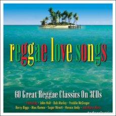 CDs de Música: REGGAE LOVE SONGS (TRIPLE CD). Lote 79103209