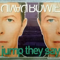 CDs de Música: DAVID BOWIE: JUMP THEY SAY, CD MAXISINGLE 6 TRACKS BMG 74321 13696 2. GERMANY, 1993.. Lote 79110957