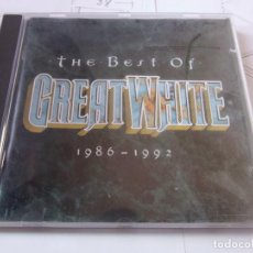 CD di Musica: GREAT WHITE THE BEST 1986-1992. Lote 79147649
