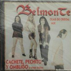 CDs de Música: BELMONTE CACHETE PECHITO Y OMBLIGO OLAS DE CRISTAL MIX. Lote 79153078