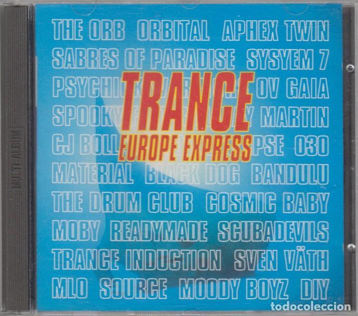 TRANCE EUROPE EXPRESS DOBLE CD THE ORB ORBITAL APHEX TWIN SVEN VATH MOBY 1993 (Música - CD's Techno)