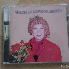 CDs de Música: CD VIOLETA LO MEJOR DEL MILENIO VIOLETA LA BURRA. Lote 79187285