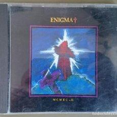 CDs de Música: ENIGMA (MICHEL CRETU, SANDRA): MCMXC A.D., CD VIRGIN 261209 / CD VIR 1. GERMANY, 1990.. Lote 79240445