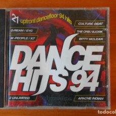 CDs de Música: CD DANCE HITS 94 - VOLUME ONE - 21 SONGS (C9). Lote 79257553