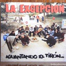 CDs de Música: LA EXCEPCIÓN. AGUANTANDO EL TIRÓN. 2006. Lote 83007658