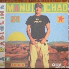 CDs de Música: MANU CHAO. LA RADIOLINA. 2007. Lote 190574817