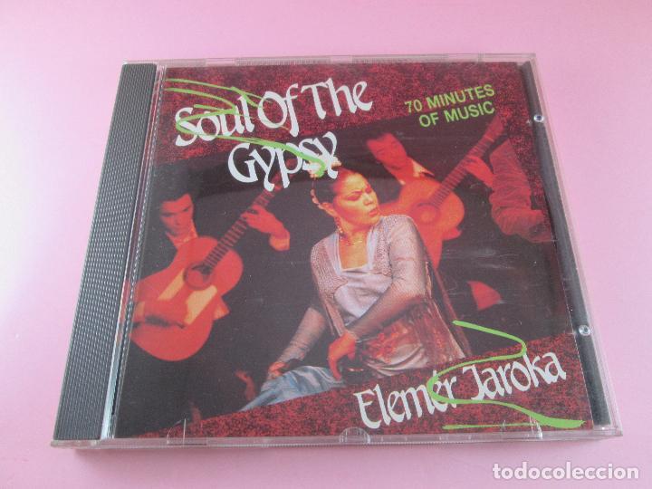 CD-SOUL OF THE GYPSY-ELEMÉR JAROKA-PERFECTO-1989-12 TEMAS-NUEVO-VER FOTOS. (Música - CD's Jazz, Blues, Soul y Gospel)