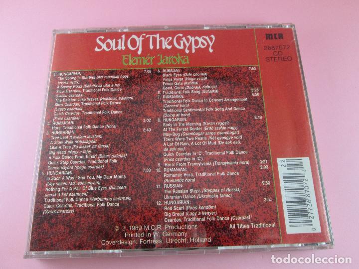 CDs de Música: cd-soul of the gypsy-elemér jaroka-perfecto-1989-12 temas-nuevo-ver fotos. - Foto 9 - 79358917