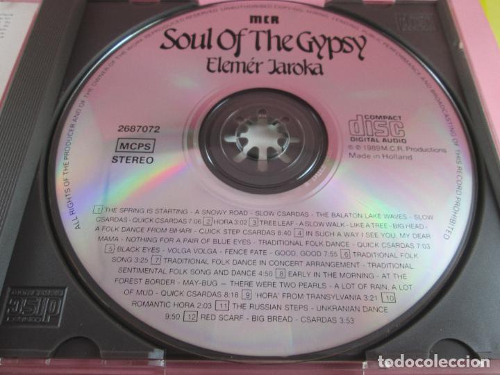 CDs de Música: cd-soul of the gypsy-elemér jaroka-perfecto-1989-12 temas-nuevo-ver fotos. - Foto 11 - 79358917