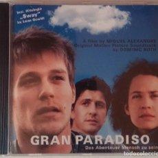 CDs de Música: GRAN PARADISO - DOMINIC ROTH - CD BSO / OST / BANDA SONORA / SOUNDTRACK. Lote 79499253