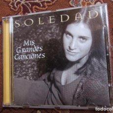 CDs de Música: SOLEDAD-CD MIS GRANDES CANCIONES- CON 14 TEMAS - ORIGINAL DEL 2000-EDITADO EN ARGENTINA- NUEVO. Lote 79547141