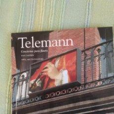 CDs de Música: TELEMANN - CONCIERTOS PARA FLAUTA - CD-LIBRO COLECCIÓN EL PAÍS - Nº 21. Lote 84928402