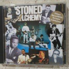 CDs de Música: STONED ALCHEMY 27 BLUES QUE INSPIRARON A LOS STONES. Lote 79631535