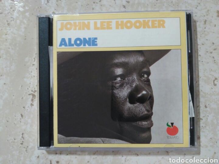 JOHN LEE HOOKER ALONE DOBLE EN DIRECTO 1989 (Música - CD's Jazz, Blues, Soul y Gospel)