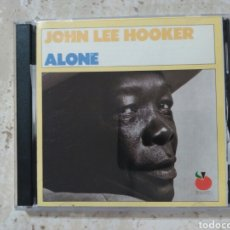 CDs de Música: JOHN LEE HOOKER ALONE DOBLE EN DIRECTO 1989. Lote 79631818