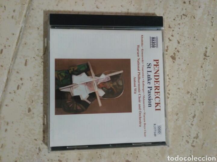 PENDERECKI ST. LUKE PASSION NAXOS (Música - CD's Clásica, Ópera, Zarzuela y Marchas)
