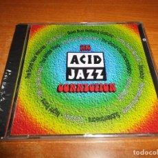 CDs de Música: THE ACID JAZZ CONNECTION CD ALBUM PRECINTADO 1994 JAMES TAYLOR MOTHER EARTH CORDUROY 14 TEMAS. Lote 79641933