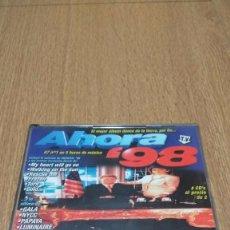 CDs de Música: CD RECOPILATORIO AHORA 98´. Lote 79647209