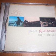 CDs de Música: CD DE JUAN GRANADOS, MOMENTOS. EDICION FONORUZ. MUY RARO.. Lote 79663357