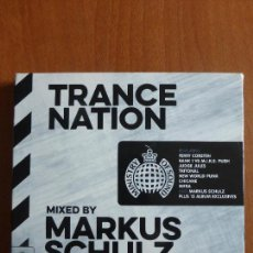 CDs de Música: THREAD: MINISTRY OF SOUND TRANCE NATION - MIXED BY MARKUS SCHULZ - DOBLE CD. Lote 79665233