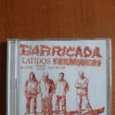 CDs de Música: BARRICADA - LATIDOS - CD + DVD - BUEN ESTADO -. Lote 79666269