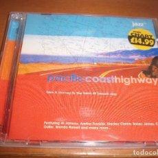 CDs de Música: DOBLE CD PACIFIC COAST HIGHWAY. VARIOS ARTISTAS. EDICION JAZZ FM DE 2000. COMO NUEVO.. Lote 79727873
