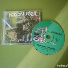 CDs de Música: POIOSN IDEA- YOUR CHOICE LIVE SERIES. Lote 79765029