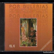 CDs de Música: GRABACIONES HISTÓRICAS. POR BULERÍAS (VARIOS INTERPRETES) CD. Lote 79765545