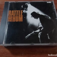 CDs de Música: U2 RATTLE AND HUM. Lote 79823485