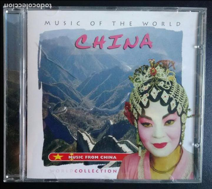 CDs de Música: MUSIC OF THE WORLD. CHINA. MUSIC FROM CHINA. MASTERTONE MULTIMEDIA 1999 - Foto 1 - 79843653