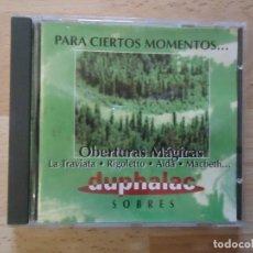 CDs de Música: OBERTURAS MÁGICAS - MÚSICA CLÁSICA - CD. Lote 79846897