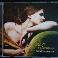 CDs de Música: MADELEINE PEYROUX. HALF THE PERFECT WORLD. CD ROUNDER RECORDS. 2006 (JAZZ). Lote 79847409